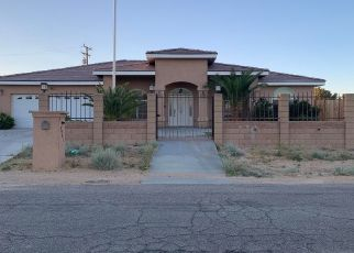 Pre Foreclosure in California City 93505 SALLY AVE - Property ID: 1523551846