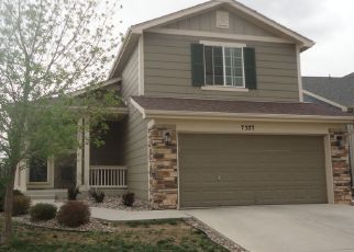 Pre Foreclosure in Fountain 80817 BRUSH HOLLOW DR - Property ID: 1525075547