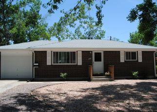 Pre Foreclosure in Colorado Springs 80910 S CLAREMONT ST - Property ID: 1525094826