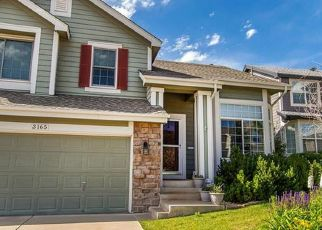 Pre Foreclosure in Littleton 80126 THISTLEBROOK CIR - Property ID: 1525213957