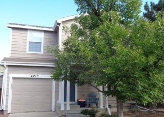 Pre Foreclosure in Denver 80236 W KENYON AVE - Property ID: 1525258173