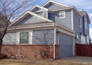 Pre Foreclosure in Aurora 80013 S WALDEN ST - Property ID: 1525468853