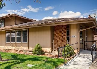 Pre Foreclosure in Aurora 80014 S FAIRPLAY WAY - Property ID: 1525469728