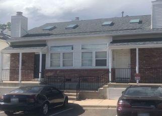 Pre Foreclosure in Aurora 80017 E TENNESSEE DR - Property ID: 1525470598