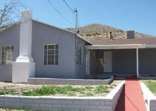 Pre Foreclosure in Bisbee 85603 MILL RD - Property ID: 1525548110