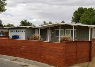 Pre Foreclosure in Lancaster 93534 WOODGATE ST - Property ID: 1525578785