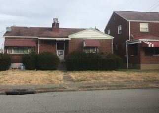Pre Foreclosure in Mckeesport 15133 ELMWOOD ST - Property ID: 1527299580