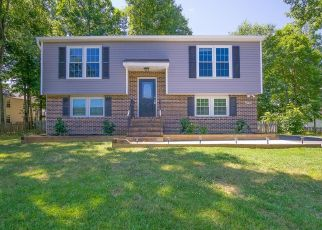 Pre Foreclosure in Fredericksburg 22407 STONE MEADOW DR - Property ID: 1527736679