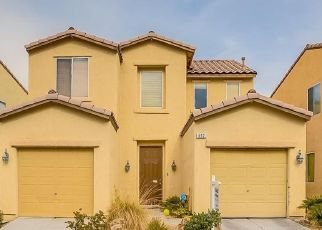 Pre Foreclosure in Henderson 89052 SHINING ROSE PL - Property ID: 1531255357