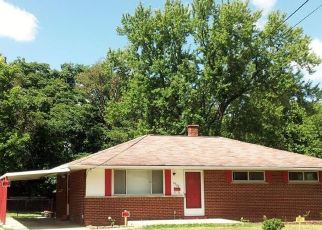 Pre Foreclosure in Cincinnati 45231 PLANET DR - Property ID: 1532861855