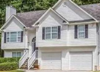 Pre Foreclosure in Douglasville 30134 PARADISE WAY - Property ID: 1534176653