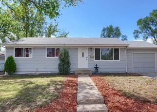 Pre Foreclosure in Colorado Springs 80909 DIXON WAY - Property ID: 1534650985