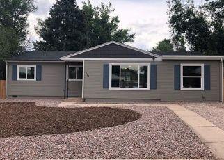 Pre Foreclosure in Colorado Springs 80907 LOCUST DR - Property ID: 1534658417