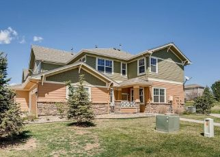 Pre Foreclosure in Aurora 80013 S PERTH CIR - Property ID: 1535053922