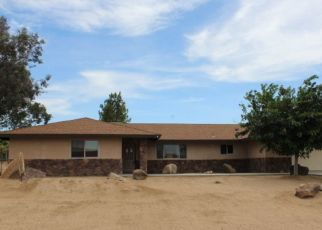 Pre Foreclosure in Yucca Valley 92284 CHIPPEWA TRL - Property ID: 1535190110