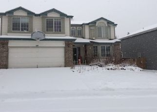 Pre Foreclosure in Castle Rock 80104 S PEMBROOK ST - Property ID: 1536964355