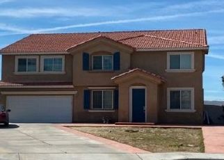 Pre Foreclosure in Palmdale 93552 POSADA CT - Property ID: 1538325132