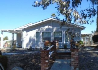 Pre Foreclosure in Wildomar 92595 OLIVE GROVE RD - Property ID: 1538453466