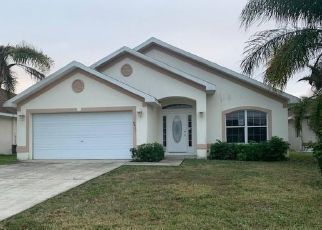 Pre Foreclosure in Lehigh Acres 33972 GASSNER WAY - Property ID: 1539434526