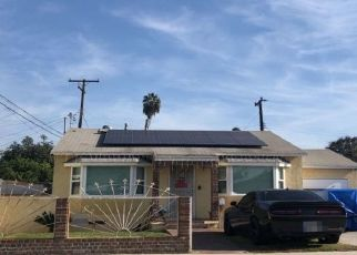 Pre Foreclosure in Whittier 90606 BOER AVE - Property ID: 1539476124
