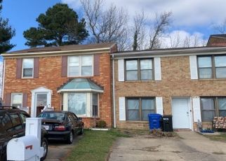 Pre Foreclosure in Virginia Beach 23452 BENJAMIN HARRISON DR - Property ID: 1540747575