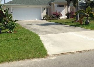 Pre Foreclosure in Cape Coral 33914 SW 26TH TER - Property ID: 154323364