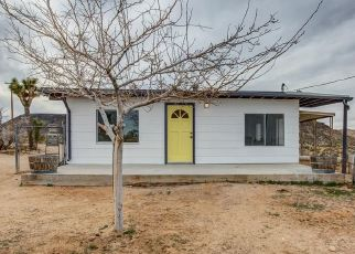 Pre Foreclosure in Yucca Valley 92284 KEELER AVE - Property ID: 1545506148