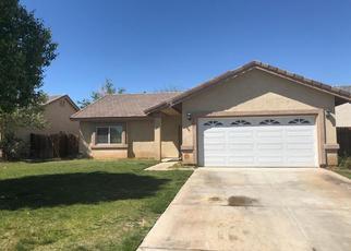 Pre Foreclosure in Rosamond 93560 MONTE VISTA AVE - Property ID: 1547087689