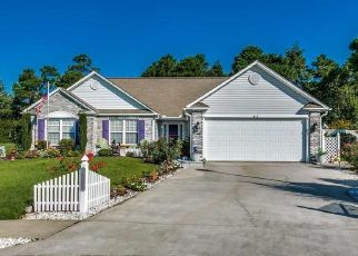 Pre Foreclosure in Myrtle Beach 29579 GARRON CT - Property ID: 1548325396