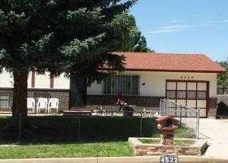 Pre Foreclosure in Colorado Springs 80916 DEWEY DR - Property ID: 1549230246