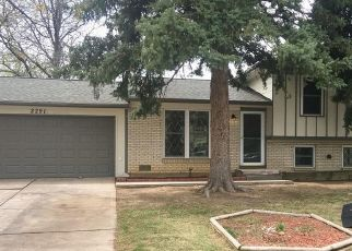 Pre Foreclosure in Aurora 80013 S MEMPHIS ST - Property ID: 1549703704