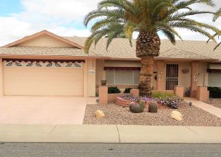 Pre Foreclosure in Sun City West 85375 W WESTGATE DR - Property ID: 1550264305