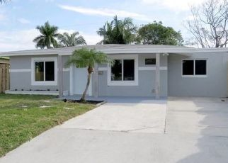 Pre Foreclosure in Fort Lauderdale 33309 NW 46TH ST - Property ID: 1550330439