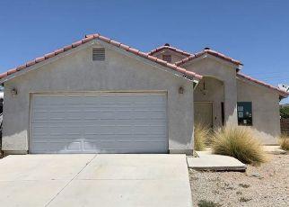 Pre Foreclosure in Yuma 85367 E 28TH LN - Property ID: 1551344347