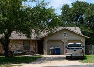 Pre Foreclosure in Austin 78748 CREEKMONT CV - Property ID: 1552803238