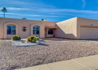 Pre Foreclosure in Mesa 85206 LEISURE WORLD - Property ID: 1553883733