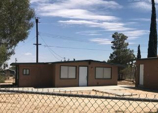 Pre Foreclosure in Yucca Valley 92284 EL DORADO AVE - Property ID: 1555814311