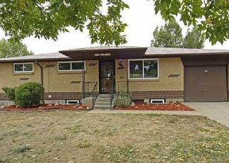 Pre Foreclosure in Westminster 80031 OAKWOOD ST - Property ID: 1559131982