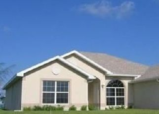 Pre Foreclosure in Cape Coral 33993 NW 28TH CT - Property ID: 1559296201