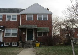 Pre Foreclosure in Baltimore 21213 RAVENWOOD AVE - Property ID: 1559842356