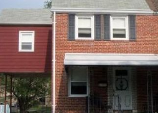 Pre Foreclosure in Baltimore 21206 GREENWOOD AVE - Property ID: 1559916376