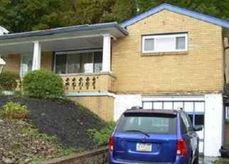 Pre Foreclosure in Pittsburgh 15235 WEBSTER DR - Property ID: 1560762102