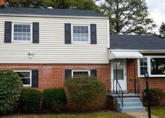 Pre Foreclosure in Highland Springs 23075 CARLSTONE DR - Property ID: 1561114678
