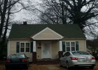 Pre Foreclosure in Richmond 23224 LOGANDALE AVE - Property ID: 1561128698