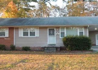Pre Foreclosure in Jacksonville 28540 COLE DR - Property ID: 1563410986