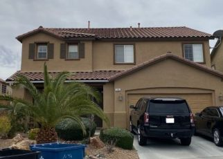 Pre Foreclosure in Henderson 89002 ARCHER GLEN AVE - Property ID: 1563765293