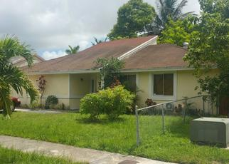 Pre Foreclosure in Miami 33177 SW 202ND TER - Property ID: 1564248825