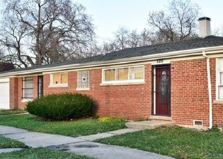 Pre Foreclosure in Dolton 60419 E SIBLEY BLVD - Property ID: 1565333231