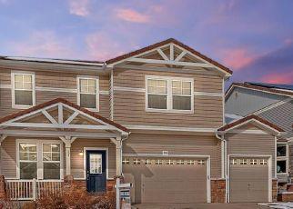 Pre Foreclosure in Castle Rock 80109 DAWN GLOW WAY - Property ID: 1565865378