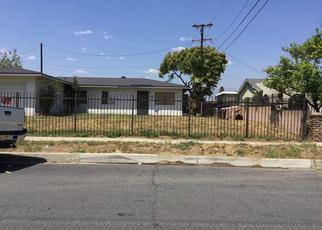 Pre Foreclosure in Rialto 92376 LORRAINE PL - Property ID: 1566328762